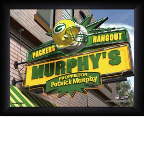 Green Bay Packers Personalized Pub Print