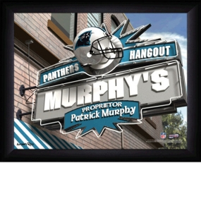 Carolina Panthers Personalized Pub Print