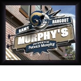 Saint Louis Rams Personalized Pub Print