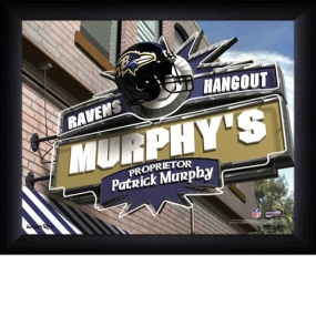 Baltimore Ravens Personalized Pub Print