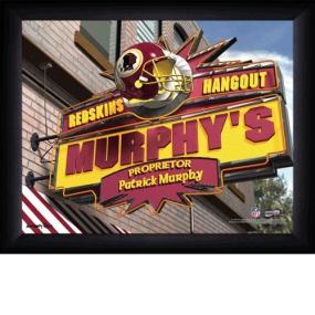 Washington Redskins Personalized Pub Print
