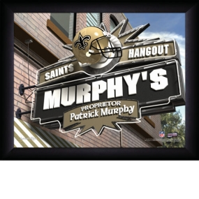 New Orleans Saints Personalized Pub Print