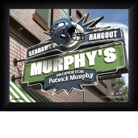 Seattle Seahawks Personalized Pub Print