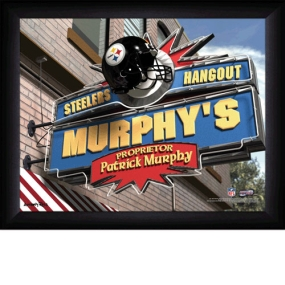 Pittsburgh Steelers Personalized Pub Print