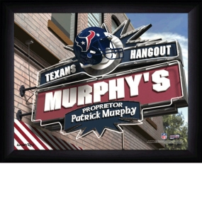 Houston Texans Personalized Pub Print
