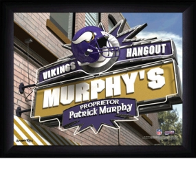 Minnesota Vikings Personalized Pub Print