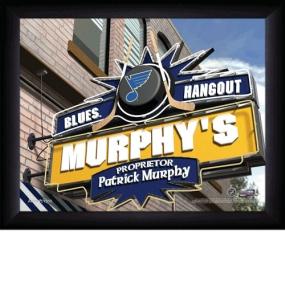 St. Louis Blues Personalized Pub Print