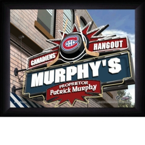 Montreal Canadiens Personalized Pub Print
