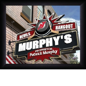 New Jersey Devils Personalized Pub Print