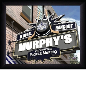 Los Angeles Kings Personalized Pub Print