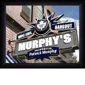 Toronto Maple Leafs Personalized Pub Print