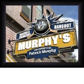 Nashville Predators Personalized Pub Print