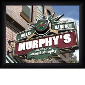 Minnesota Wild Personalized Pub Print