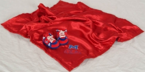 Mississippi Rebels Baby Blanket and Slippers