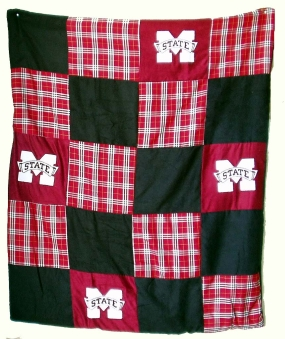 Mississippi State Bulldogs Quilt