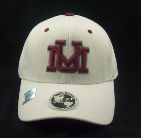 Montana Grizzlies White One Fit Hat