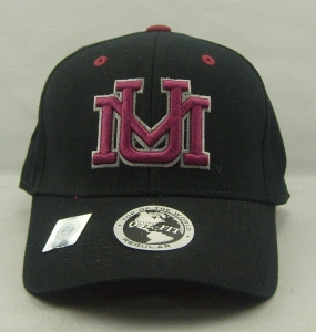 Montana Grizzlies Black One Fit Hat