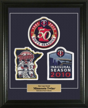 Minnesota Twins Authentic Patch Collection