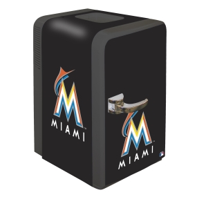 Miami Marlins Portable Party Refrigerator