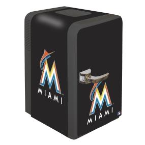 Miami Marlins Portable Party Refrigerator