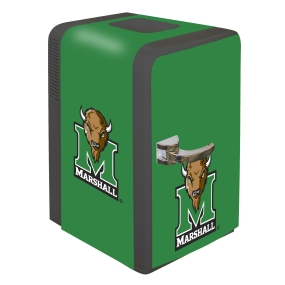 Marshall Thundering Herd Portable Party Refrigerator