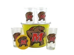 Maryland Terrapins Gift Bucket Set