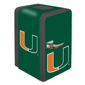 Miami Hurricanes Portable Party Refrigerator