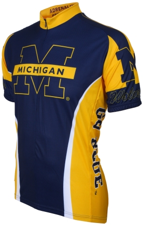 Michigan Wolverines Cycling Jersey