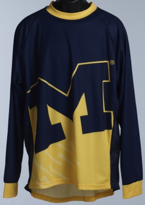 Michigan Wolverines Mountain Bike Jersey