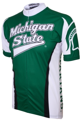 Michigan State Spartans Cycling Jersey