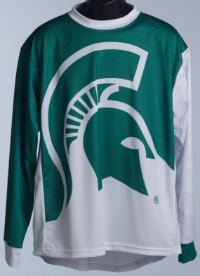 Michigan State Spartans Mountain Bike Jersey
