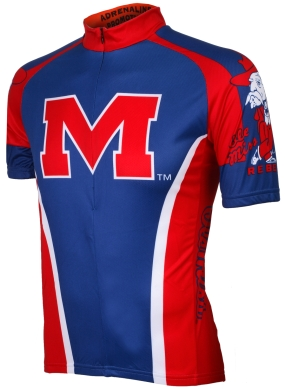 Mississippi Rebels Cycling Jersey