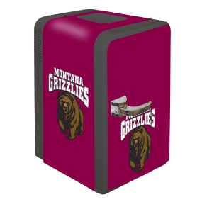 Montana Grizzlies Portable Party Refrigerator