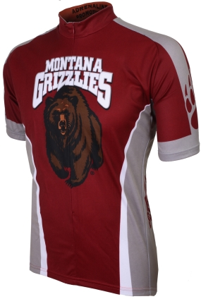 Montana Grizzlies Cycling Jersey