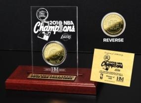 2010 NBA Champions Etched Acrylic