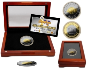 2010 NBA Champions Two-Tone Coin