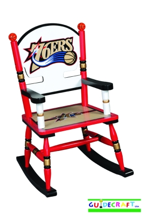 Philadelphia 76ers Kid's Rocking Chair
