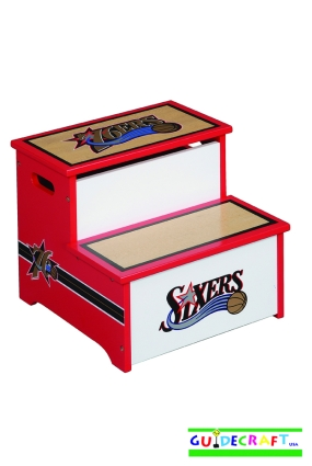 Philadelphia 76ers Storage Step Up