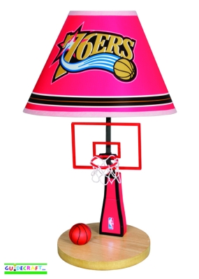 Philadelphia 76ers Table Lamp