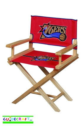 Philadelphia 76ers Youth Director's Chair