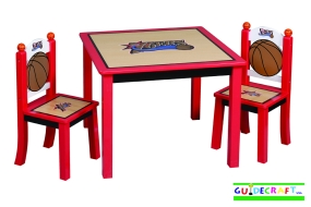 Philadelphia 76ers Youth Table and Chairs