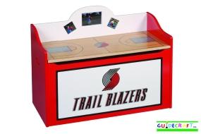 Portland Trailblazers Toy Box