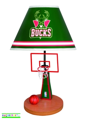 Milwaukee Bucks Table Lamp