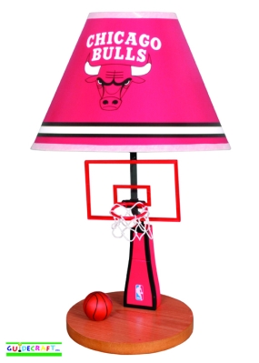 Chicago Bulls Table Lamp