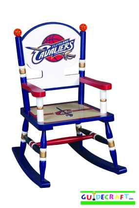Cleveland Cavaliers Kid's Rocking Chair