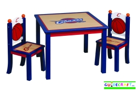 Cleveland Cavaliers Youth Table and Chairs