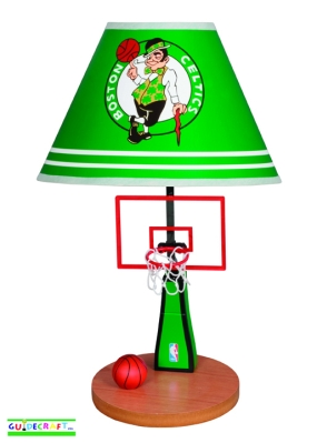 Boston Celtics Table Lamp