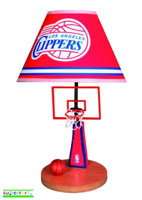 Los Angeles Clippers Table Lamp