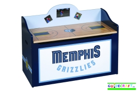 Memphis Grizzlies Toy Box