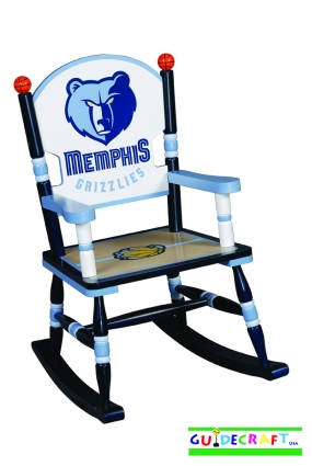 Memphis Grizzlies Kid's Rocking Chair